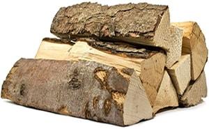 Чистка дымохода осиновыми дровами